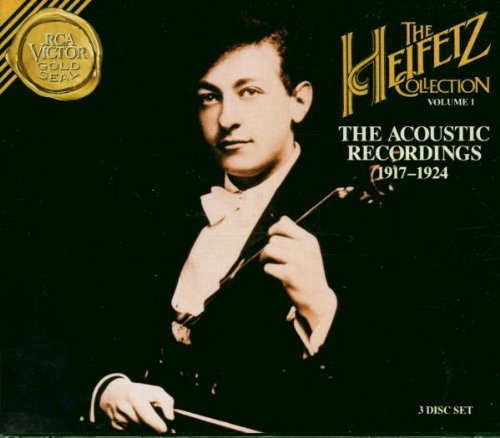 The Heifetz Collection Volume 1 - The Acoustic Recordings 1917-1924