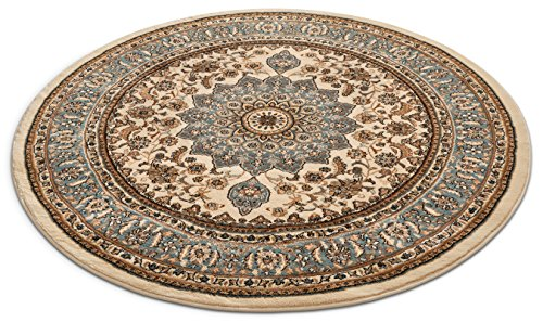 Well Woven 36420 Timeless Aviva Traditional French Country Oriental Ivory Area Rug 5'3
