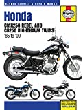 1985-2009 Honda Rebel 250 Nighthawk HAYNES REPAIR MANUAL