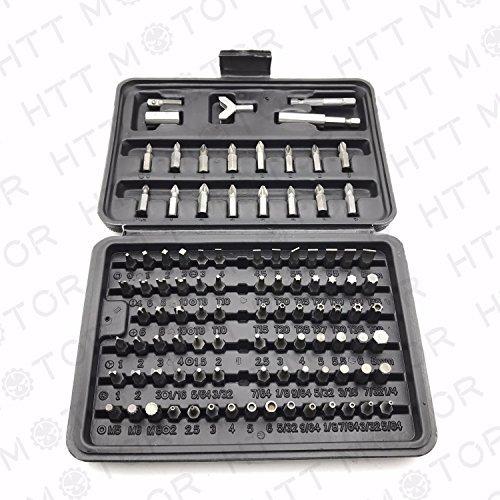 100 PIECE SECURITY BIT SET LOCKSMITH PC TORX HEX KEY [並行輸入品] B078XLQ3LC