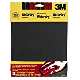 3M Wetordry Sandpaper, 9-Inch by 11-Inch, Super Fine 400 Grit, 5-Sheet, 2-PACK