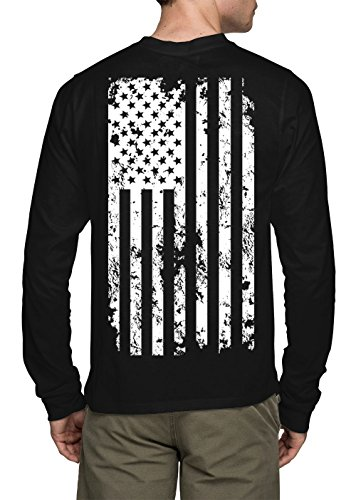 Long Sleeve White American T shirt