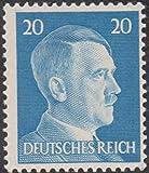 Adolf Hitler 20 German Realm Unused Post