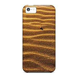 Hot Style VKZ5123pHFh Protective Cases Covers For Iphone5c(abstract Sand Desert Striped Texture)