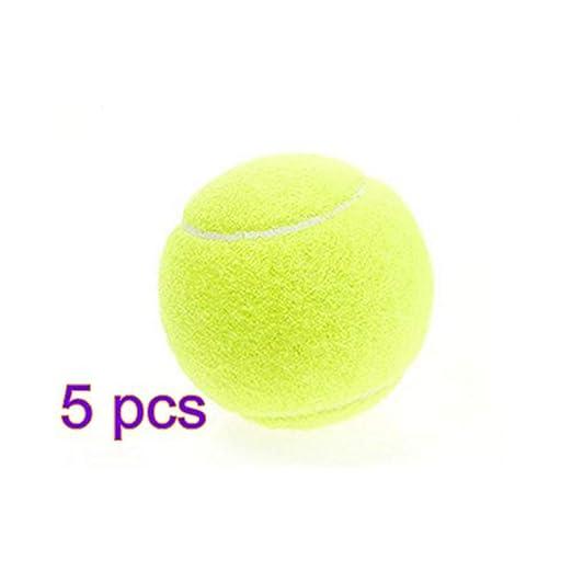 Namgiy Pelota de tenis para perro, juguete deportivo, práctica de ...
