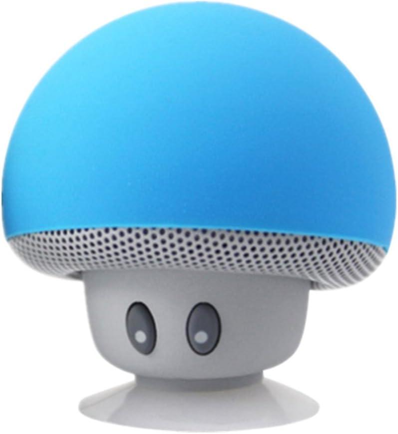 Mini altavoz Bluetooth inalámbrico portátil Seta Aspiradora Tipo altavoz amarillo for iPhone, Samsung and More Azul: Amazon.es: Electrónica