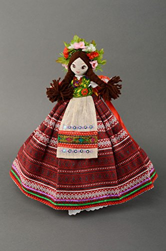 Teapot Cozy Interior Doll In Ukrainian Style by MadeHeart | Buy handmade goods