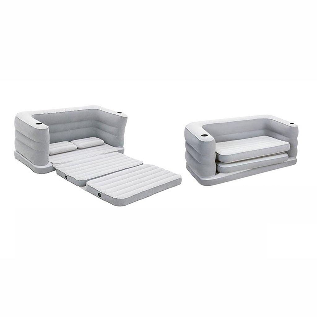 ALXC- ベッド、インフレータブルエアクッションソファシート椅子ソファーベッドレイジーフロッキングシンプル (サイズ さいず : A) B07F3XDL7V A  A
