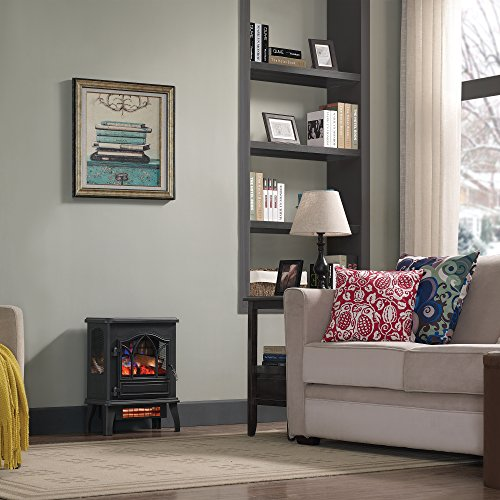 Pleasant Duraflame Dfi 470 04 Infrared Quartz Fireplace Stove Black Download Free Architecture Designs Intelgarnamadebymaigaardcom