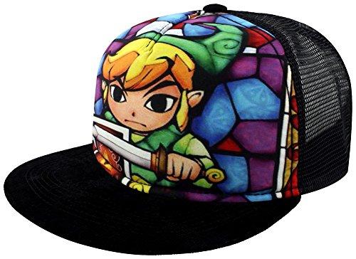 Zelda Wind Waker Link–Cap Snapback Cap