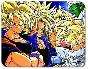 Son Goku Gohan Super Saiyan Vegeta Trunks Alfombrilla de ...