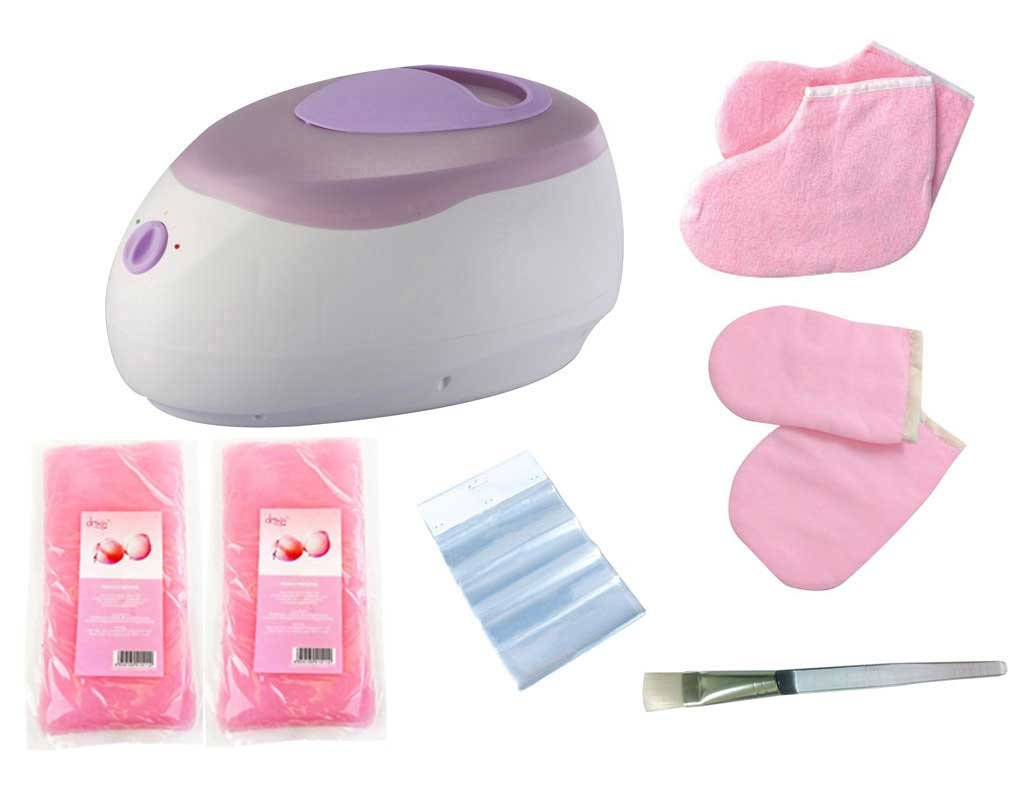 Huini Paraffin Bath Professional Salon Warmer Wax Heater 2300ml Normal Type Kit with Brush Wax Mittens Booties Bags by HUINI