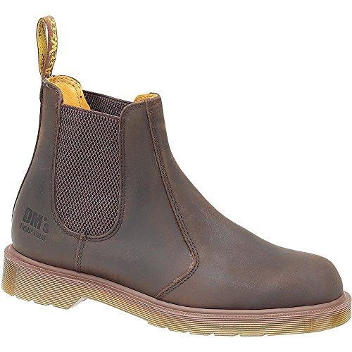 Dr. Martens Mens INDUSTRIAL CHELSEA BOOT marrone