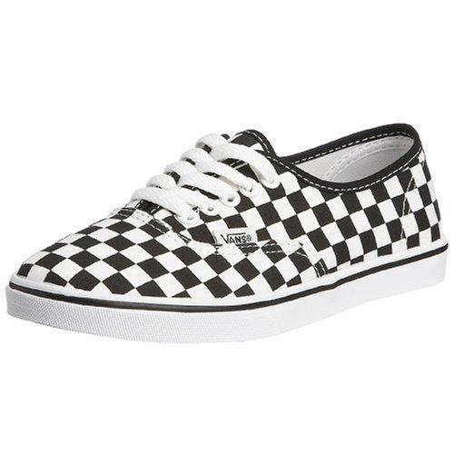 Vans Women s Authentic Lo Pro Flat (Checkerboard) true white black VF7B27I  8.5 UK  Amazon.co.uk  Shoes   Bags 8e644e3d08d0