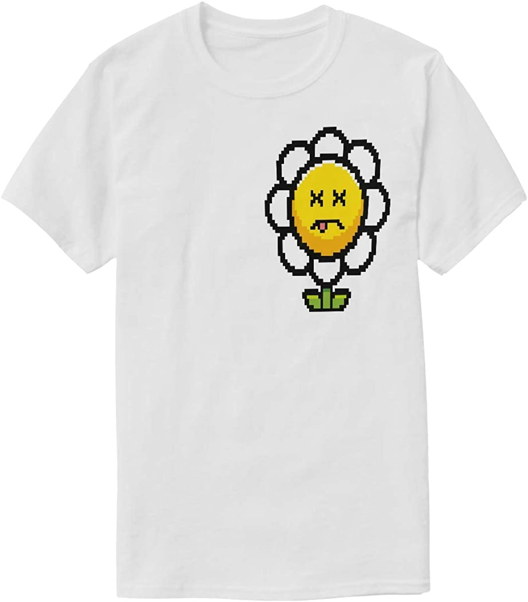 Round Neck T-Shirt,Exotic Hawaiian Summer Season Fashion Personality Customization