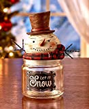 Holiday Snowman Candy Jars