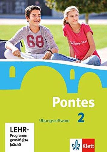 Pontes 2  Übungssoftware Mit Vokabeltrainer CD ROM 2. Lernjahr  Pontes. Ausgabe Ab 2014