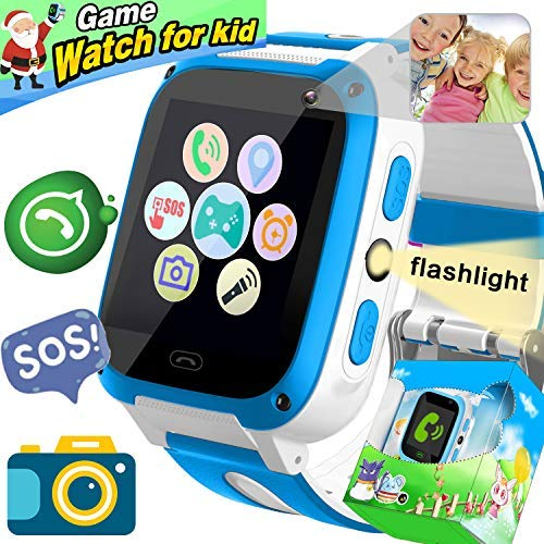 2019 New Upgrade] Kids Game Smart Watch Phone, Holiday