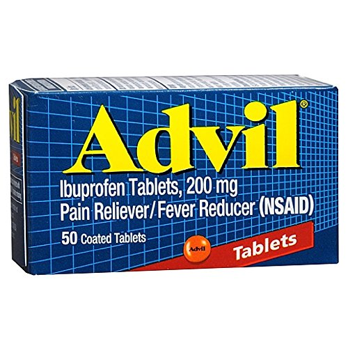 advil tablets 200 mg 50 coated tablets boxes pack of 2