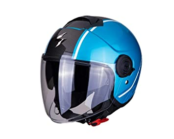 Scorpion Exo City motocicleta casco jet, Pilot Casco, – Casco semi-integral