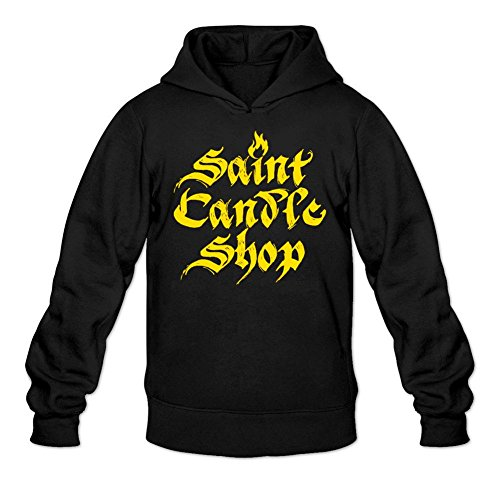 Owiekdmf Men's Big Cartel Logo Stacked Sweatshirt Hoodie XXL -