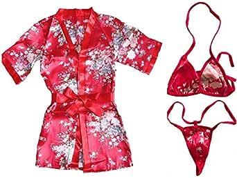 G - Passion Kimono Lingerie Set