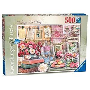 Ravensburger Vintage Tea Party Puzzle Da Pezzi