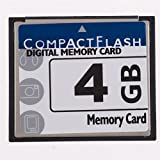 4gb cf flash - FengShengDa 4GB Compact Flash Memory Card Speed Up To 50MB/s, Frustration-Free Packaging- SDCFHS-4G-AFFP (4G)