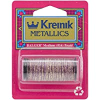 Kreinik No.16 11-Yard Metallic Braid, Medium, Golden Cabernet