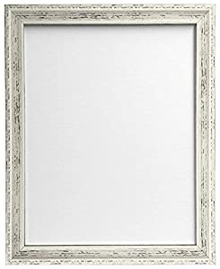 frames by post shabby chic picture frame 50 x 70 cm distressed white - White Picture Frames