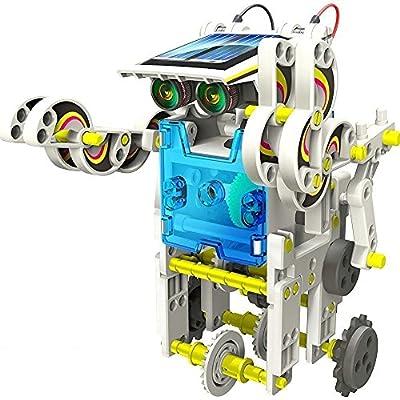 14-in-1 Educational Solar Robot Kit