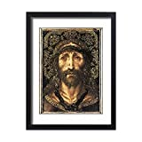 Framed 24x18 Print of GASCO, Juan (16th century). Holy Face. c. 1513 (8271901)