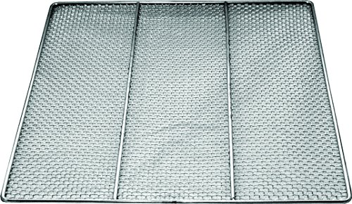 10 pc DN-FS23 Stainless Steel Donut Frying Screen 23'' x 23'' (16 Mesh) by EquipmentBlvd