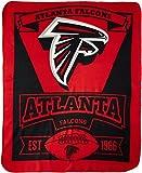 """NFL Atlanta Falcons Marque Printed Fleece Throw, 50"""" x 60"""""""