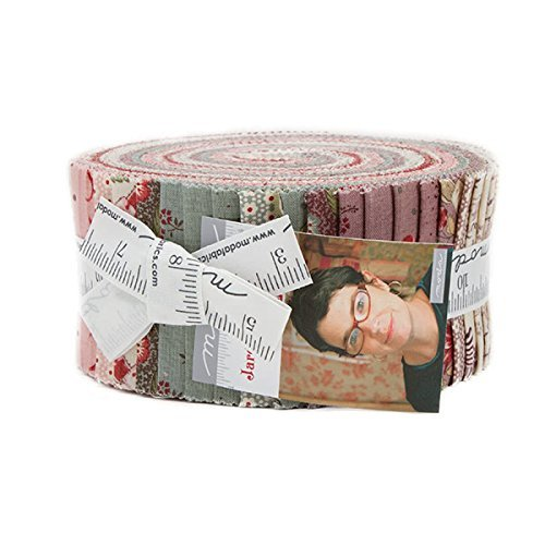 French General Jardin de Versailles Jelly Roll 40 2.5-inch Strips Moda Fabrics 13810JR - Versailles Quilt