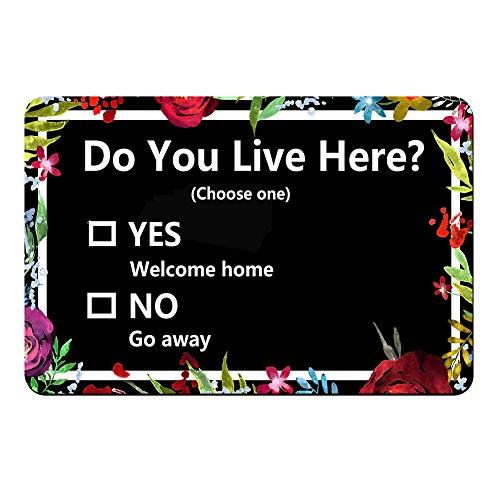 Live Here Door Mat - 9