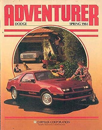 Amazon.com: 1984 Dodge Magazine Daytona Turbo Summer Olympics: Entertainment Collectibles