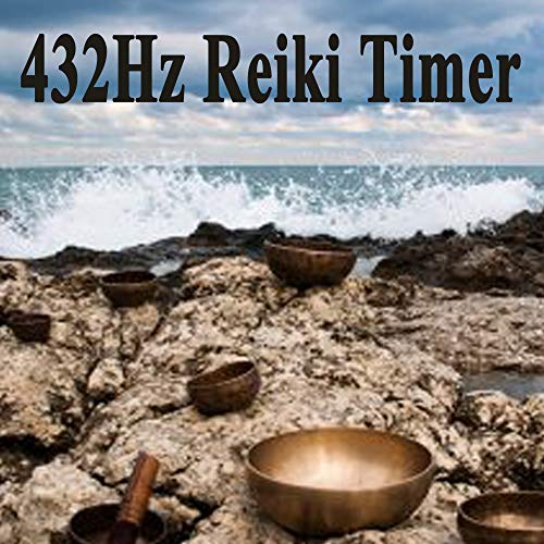 (432Hz Reiki Timer - 26 X 3 Minutes, 26 X 2 Minutes & 26 X 1 Minute Tibetan Singing Bowls Bells with Relaxation Sea & Beach Background)