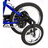 Bike USA 1050 20-Inch Junior Stabilizer Wheel Kit, Black
