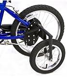 Bike USA Inc's Junior Stabilizer Wheel Kit for Youth 20-Inch Wheel BMX Bikes, Heavy-Duty BMX Training Wheels.