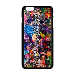 Customize Generic Rubber Material iPhone 6 Plus Cover Coldplay Back Case Suitable For 5.5 inch iPhone 6 Plus