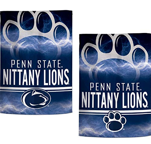 - WinCraft NCAA Garden Flags 2 Sided 12. 5 x 18 Inches (Penn State Nittany Lions)