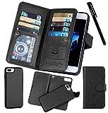 for iPhone 7 Plus / 8 Plus (5.5''), Urvoix Wallet Leather Flip Card