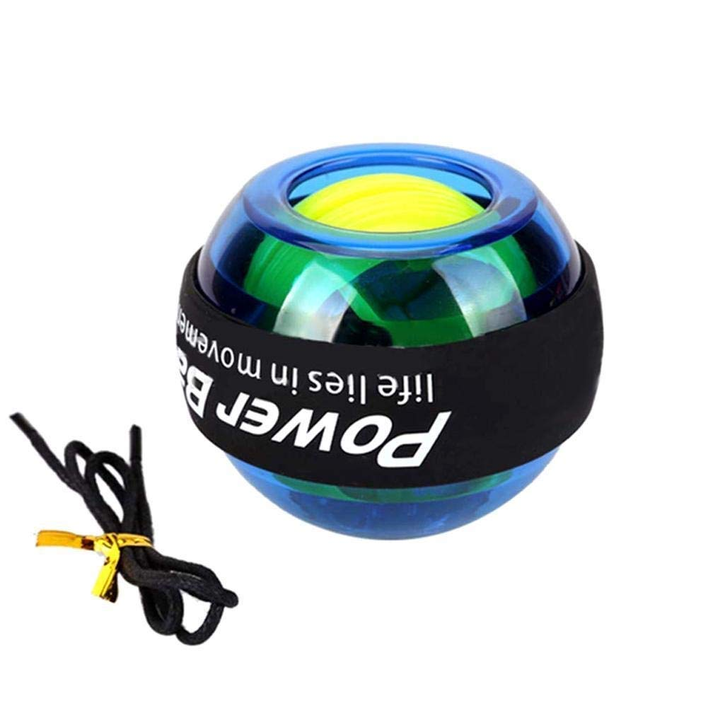 WMM - Wrist ball Models Gyroscopes - Wrist Strengthener, Grip Strengthening Gyro Ball (Color : Blue) by WMM - Wrist ball