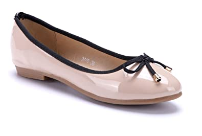 Schuhtempel24 Damen Schuhe Klassische Ballerinas Gelb Flach PAqp0