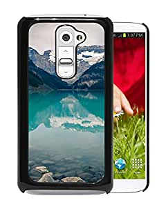 Unique Designed Cover Case For LG G2 With Mk Canada Lake Louise Green Water Nature Phone Case
