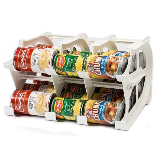 Price comparison product image FIFO Mini Can Tracker- Food Storage Canned Foods Organizer / Rotater / Dispenser: Kitchen,  Cupboard,  Pantry- Rotate Up To 30 Cans by FIFO