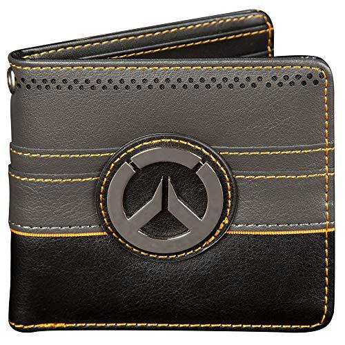 (JINX Overwatch New Objective Bi-Fold Wallet, Multi-Colored, Standard Size)