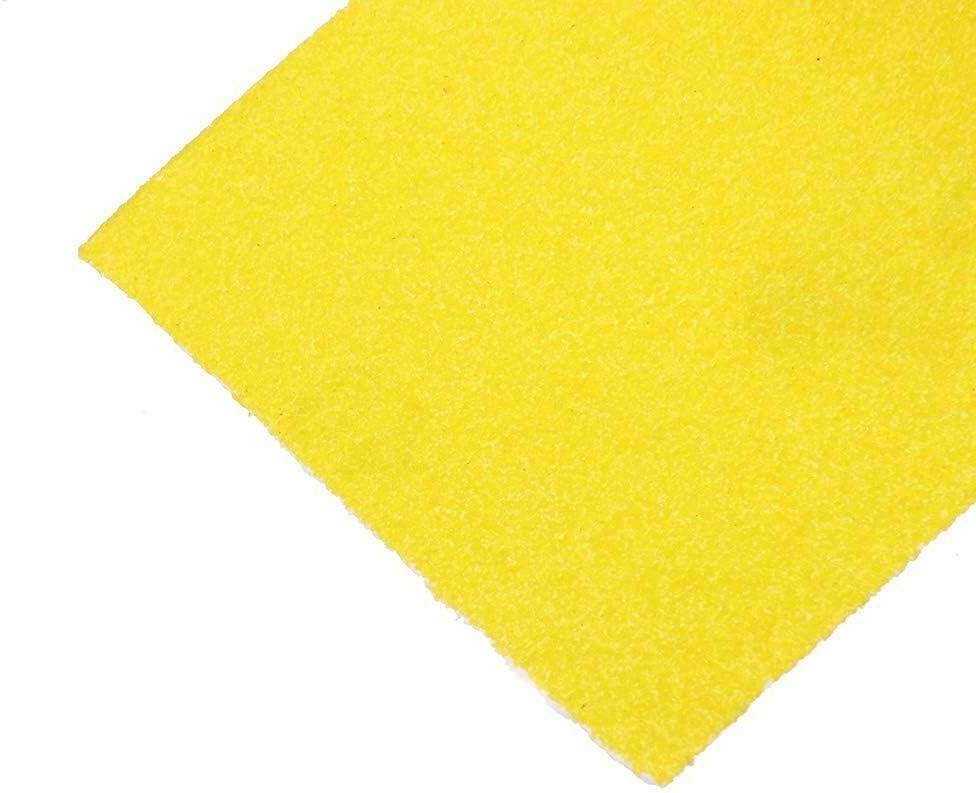 Toolstar Rouleau de papier abrasif en oxyde daluminium 93 mm x 5 m jaune