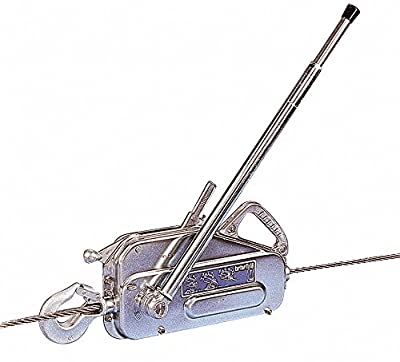 Manual Cable Hoist, 4000 lb. Lifting Capacity, 60 ft. Cable Length